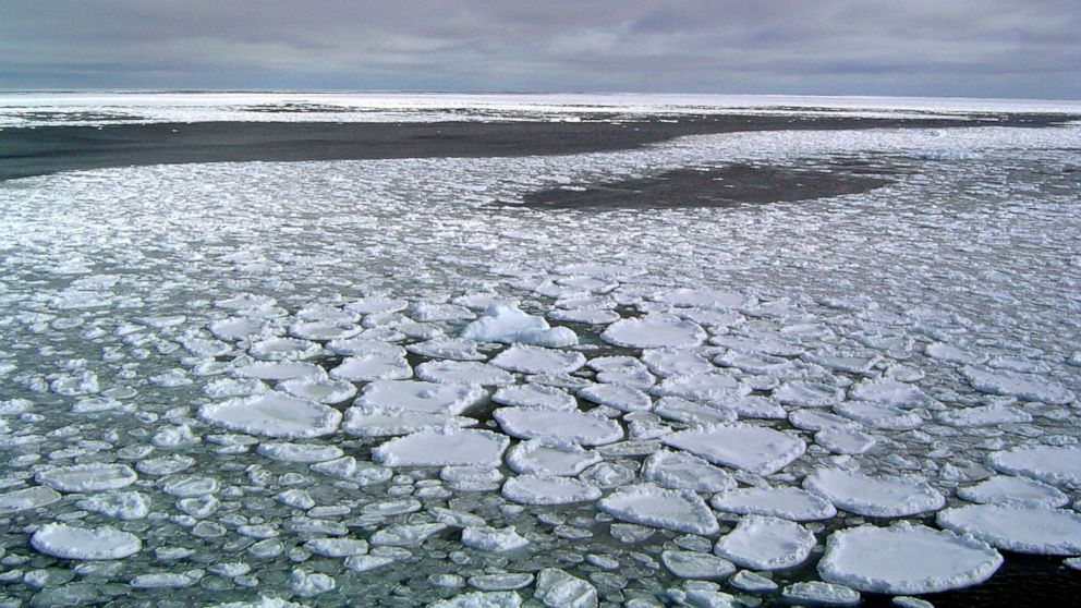 Floating Antarctic ice goes from record high to record lows thumbnail
