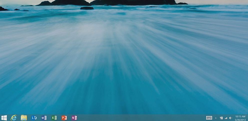 PHOTO: Windows 8.1 brings back the Start Button.