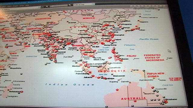 PHOTO: Screen shot of the scams the FBIs Internet Crime Complaint Center has pinpointed in the Pacific region.