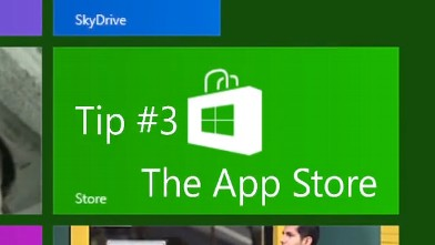 PHOTO: Windows 8 comes with an App Store.