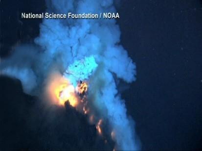 Deepest Undersea Volcano: Pacific Ocean - ABC News Pacific Ocean Underwater Volcanoes