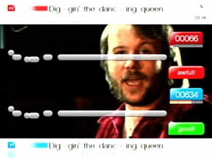 VIDEO: Playstaion 3s Singstar Abba edition.