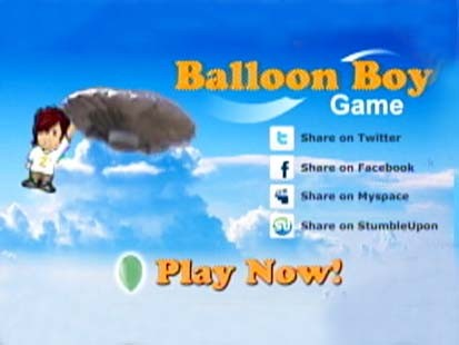 VIDEO: Video game lets users play the role of balloon boy Falcon Heene.