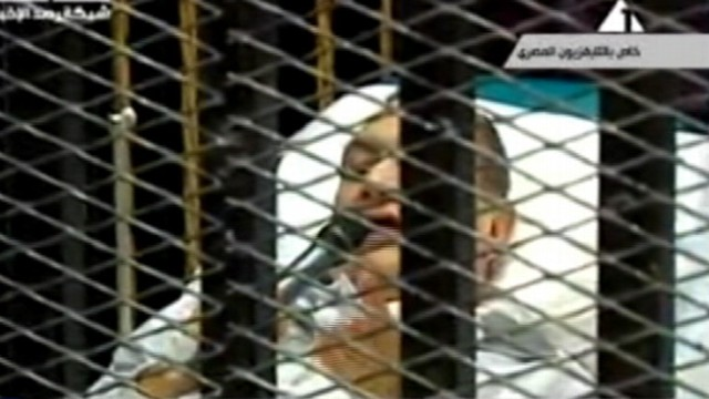VIDEO: Ousted Egyptian presidents not-guilty plea turned into phone ringtone.