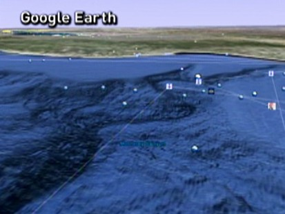 Google Earth Dives Deeper Expands Ocean Feature ABC News - Google ocean