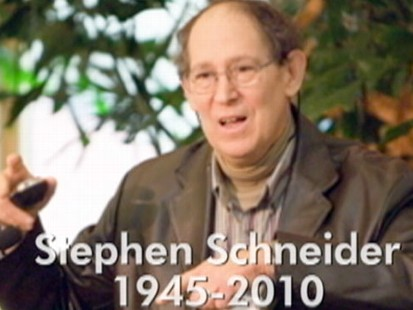 VIDEO: A Paul Revere of global warming survived cancer using climate science medicine.