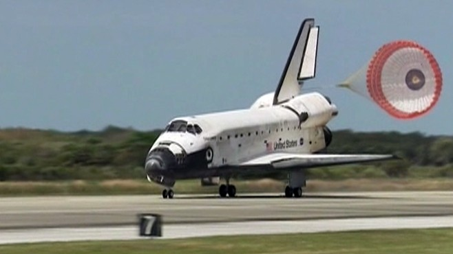 VIDEO: NASAs oldest shuttle to be retired after landing at Kennedy Space Center.