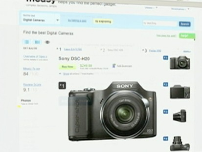 VIDEO: Measy.com helps you narrow your search for the right gadget.