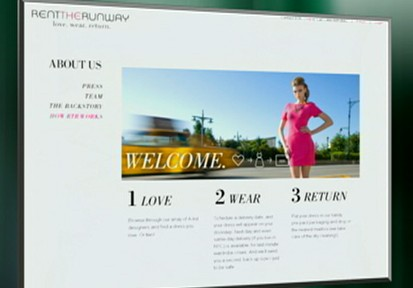 VIDEO: On this new website users can rent high end designer fashions for cheap.