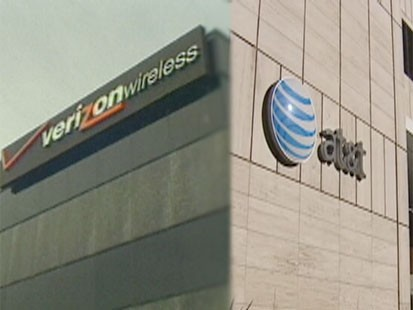 VIDEO: Verizon lowers unlimited calling plans to $70 a month, AT&T follows suit.