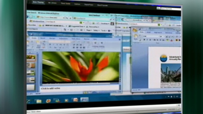 VIDEO: Microsoft will offer its Windows 7 software on a variety of device including TVs.