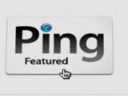 VIDEO: Ping allows users to share music preferences with friends.