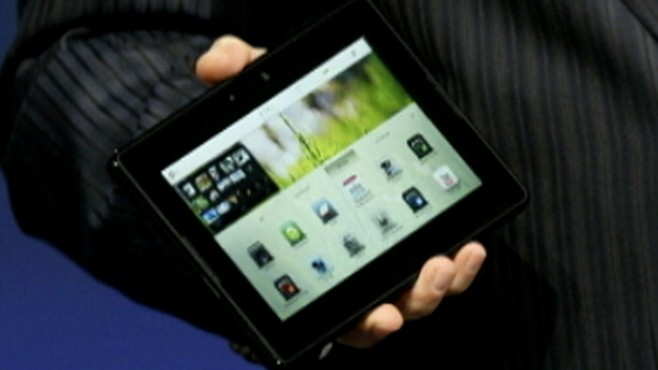 Blackberry Takes on the iPad