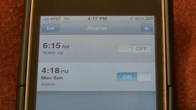 VIDEO: iPhone Alarm Not Waking Users Up