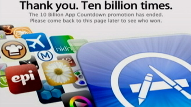 VIDEO: Apple has 10 billion reasons to celebrate the success of its iTunes App Store.