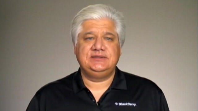 VIDEO: RIM co-CEO and founder, Mike Lazaridis, apologizes for BlackBerry service outages.
