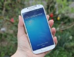 PHOTO: The Galaxy S4, Samsungs flagship phone.