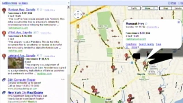 Want to Buy a Foreclosed Home? Try Zillow, Google Maps or Other Real Zillow Map on