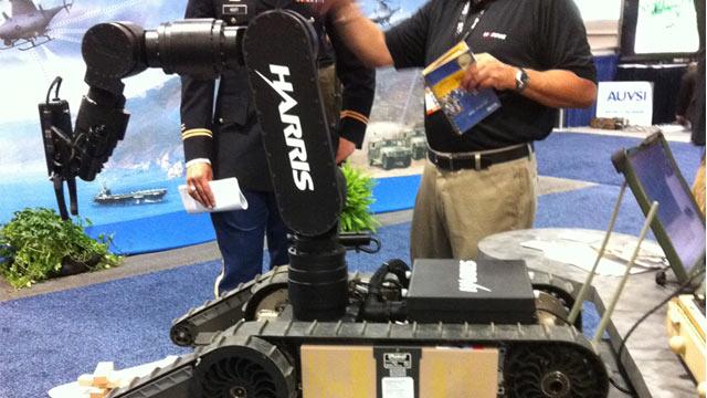 PHOTO:Harris Wireless Haptic Manipulator System