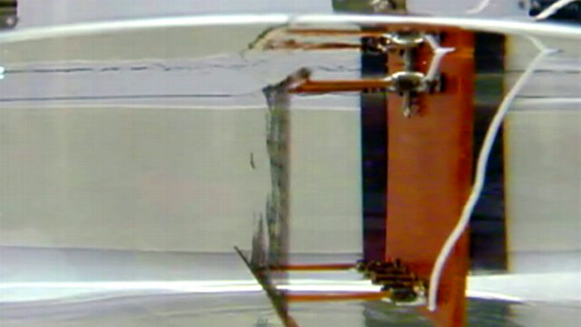 PHOTO:Invisibility mirage created in Texas lab