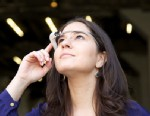 PHOTO: ABC News Tech Editor Joanna Stern wears Google Glass.