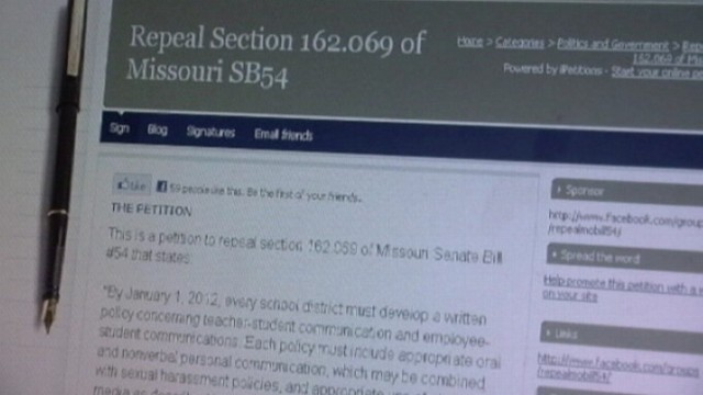 VIDEO: The law limits social media contact between teachers and students.