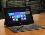 PHOTO: The $899 Microsoft Surface Pro with its included stylus and additional keyboard.