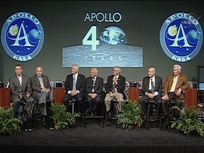 VIDEO: Former astronauts complain about NASA funding and direction of the space program.