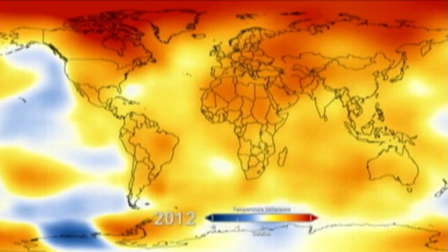 Global Warming Shown in NASA Computer Model Video - ABC News