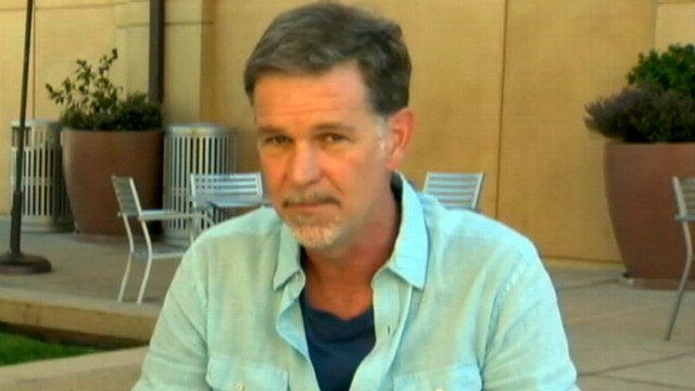 VIDEO: Reed Hastings says Netflix will start Qwikster service for mailing films on DVD.