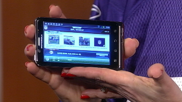 PHOTO: NFL Mobile app