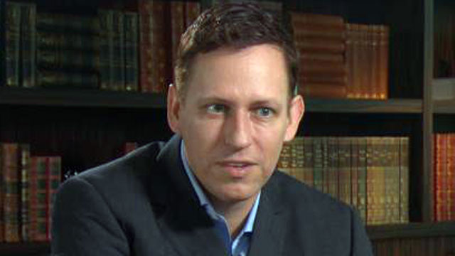 PHOTO: PayPal billionaire Peter Thiel recently started a $2 million fund to get college students younger than 20 to drop out of school and start a business with $100,000 each.