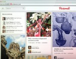 PHOTO:Pinterests redesigned site.