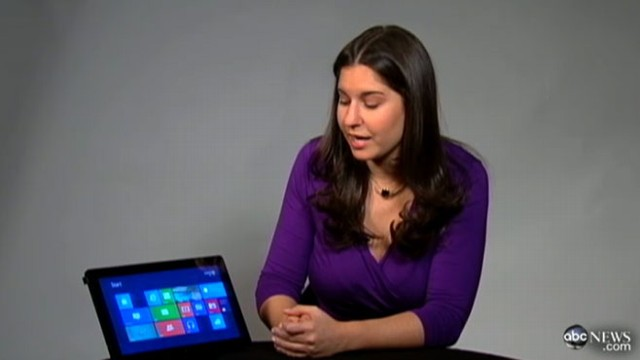 Microsoft unveils new operating system with tablet inspired features.