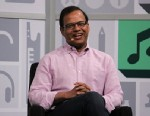 PHOTO: Amit Singal, head of search at Google, speaks at SXSW 2013.