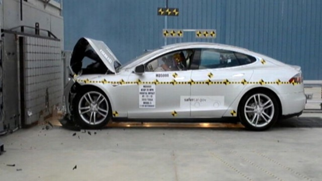 Tesla Crash Test Rating May Not Be as High as Maker Claimed - ABC News