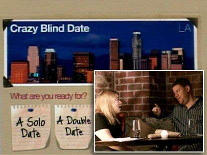 VIDEO: Crazy Blind Date web site is a free dating service.
