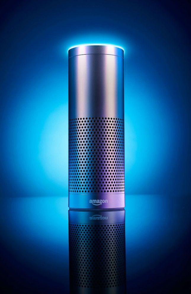 PHOTO: An Amazon Echo multimedia smart speaker is pictured on Nov. 28, 2016.