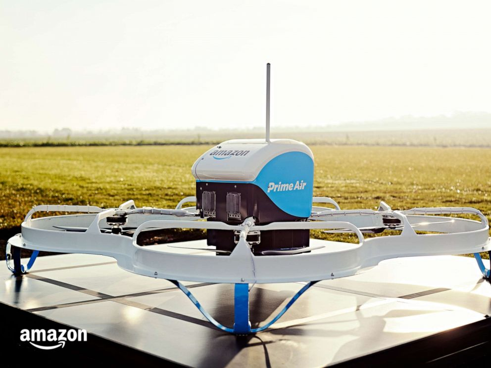 PHOTO: Prime Air drone delivery.