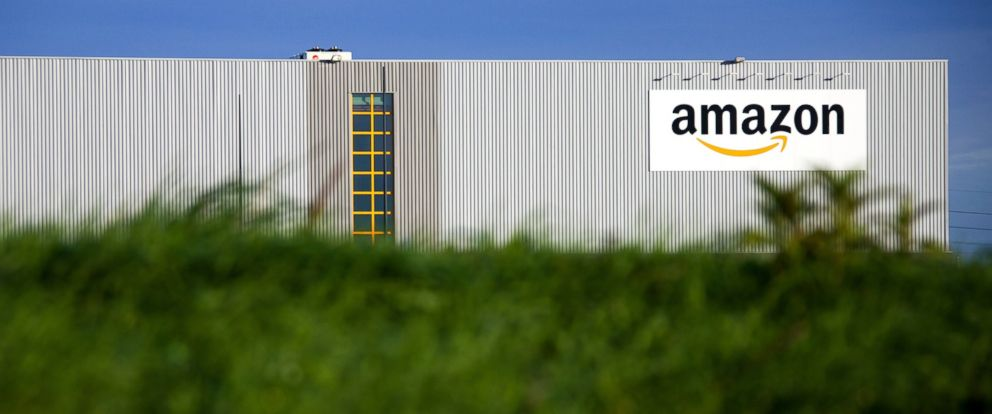 PHOTO: A logistics center for online merchant Amazon is pictured in Lauwin-Planque, northern France, Sept. 19, 2013.