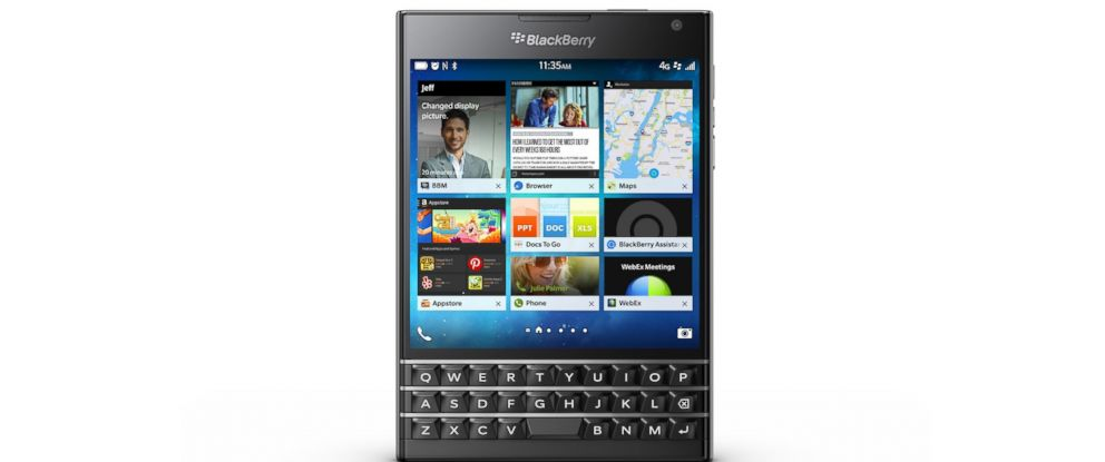 BlackBerry Passport Wants to Make It Hip to Be Square - ABC News