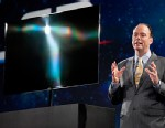 PHOTO: Samsung OLED TV at CES