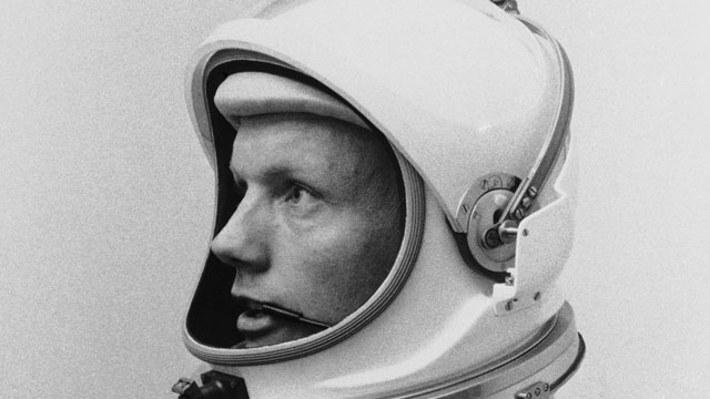 PHOTO: In this March 6, 1966 file photo Astronaut Neil Armstrong, pilot for the Gemini VIII mission is shown. The family of Neil Armstrong, the first man to walk on the moon, says he died Saturday, Aug. 25, 2012, at age 82.