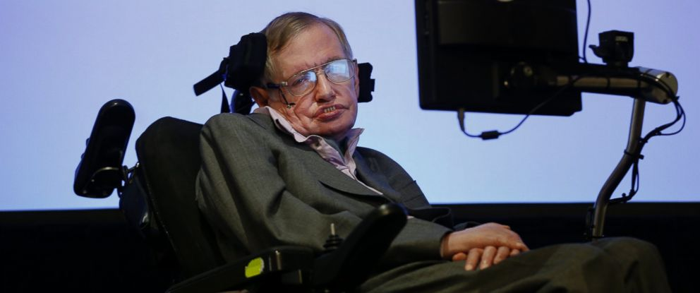 PHOTO: Professor Stephen Hawking during a press conference in London, Dec. 2, 2014.