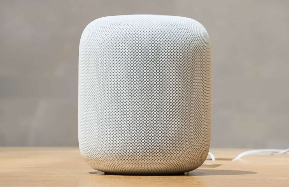 PHOTO: A HomePod is pictured at the Apple Store, Feb. 9, 2018, in Sydney, Australia.