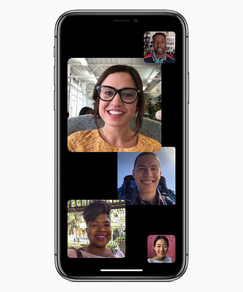 PHOTO: Apple announced support for group Facetime chats at their Worldwide Developer Conference in San Jose, Calif., June 4, 2018.