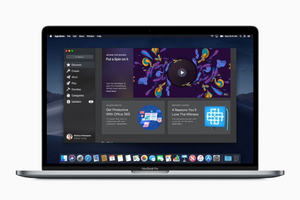 PHOTO: Apple announced an all-new Mac App Store at their Worldwide Developer Conference in San Jose, Calif., June 4, 2018.