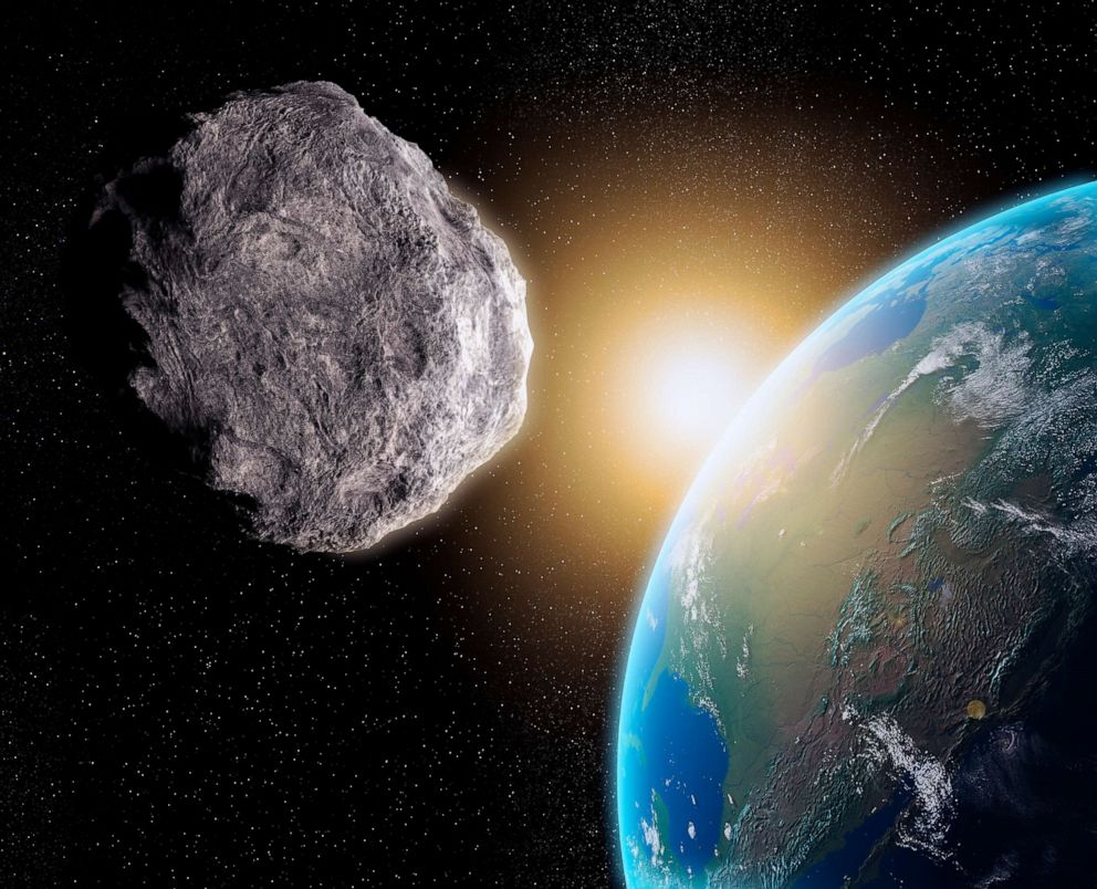 PHOTO: An illustration of a near-Earth asteroid is seen here.