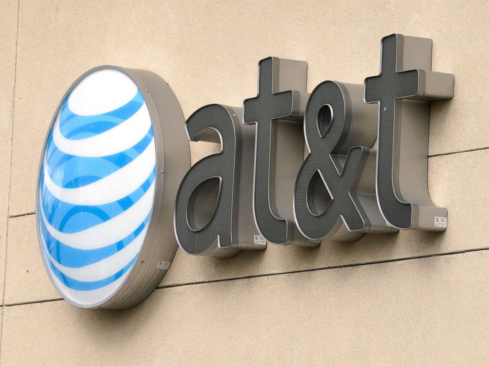 PHOTO: The AT&T logo adorns a store in Golden, Colo., July 25, 2017.