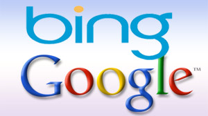 Bing and Google.